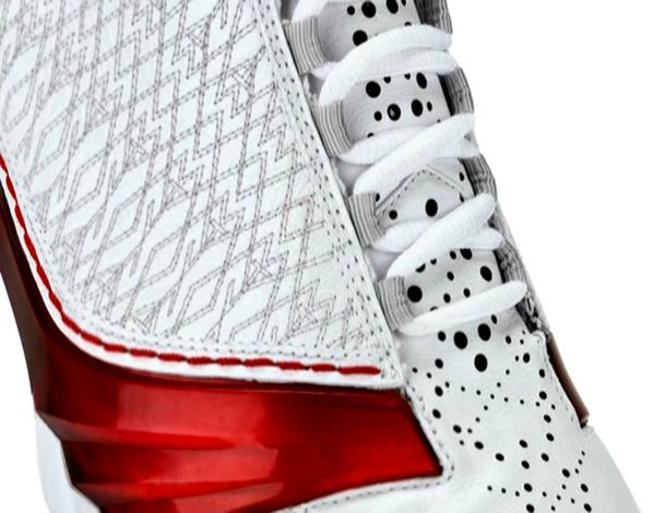 Air Jordan XX3 (23) White/Varsity Red-Metallic Silver
