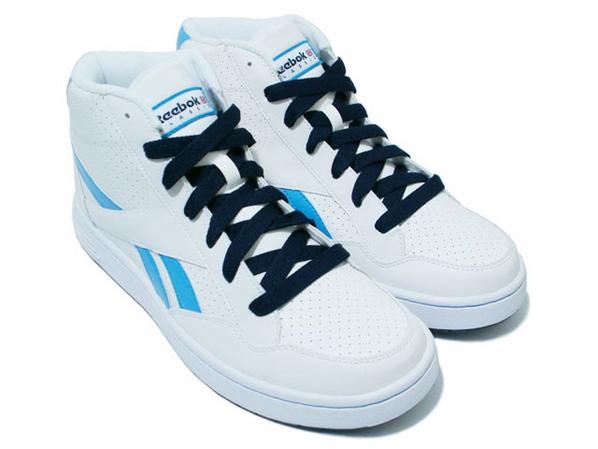 Reebok CL BB Zone Mid White / Royal Blue