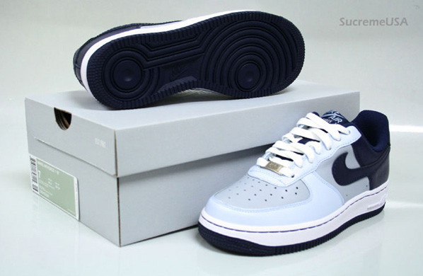Nike Women's Air Force 1 - Mist Blue/Midnight Navy/Blue Ice