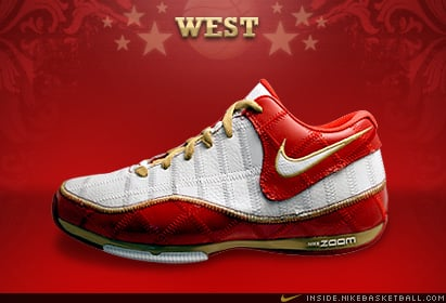 Nike Zoom BB II (2) Low 2008 All Star West: Steve Nash Trash Talk