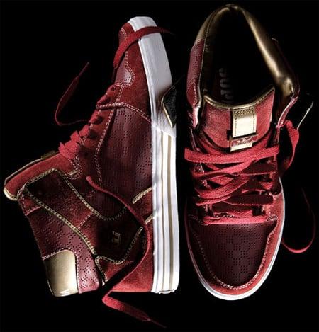 Supra Vaider - Red/Gold