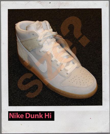 Nike Dunk High - Horse Hair