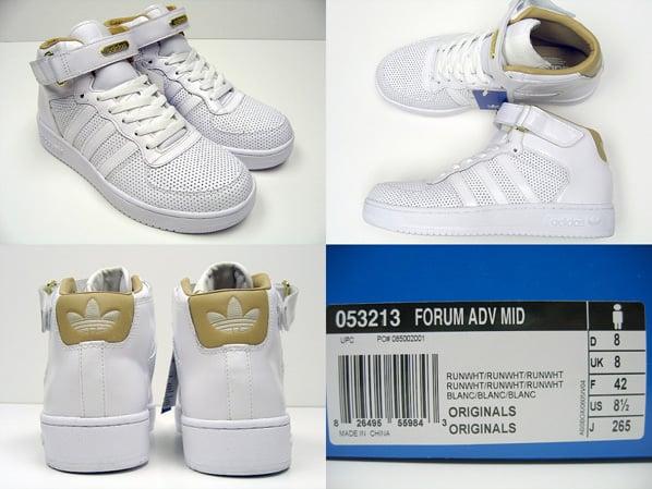 Adidas Forum ADV Mid - White Perforation  437e7886d