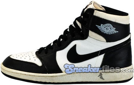 Air Jordan Original / OG 1 (I) White / Black