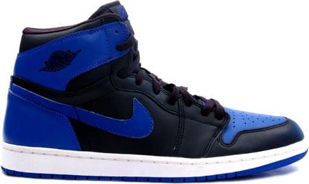Air Jordan Bleu Logo Noir
