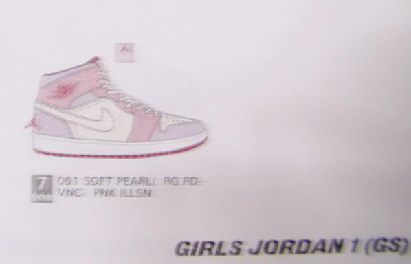 Air Jordan Retro 1 (I) GS Girls