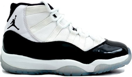 Air Jordan Original 11 (XI) Concords White - Black - Dark Concord
