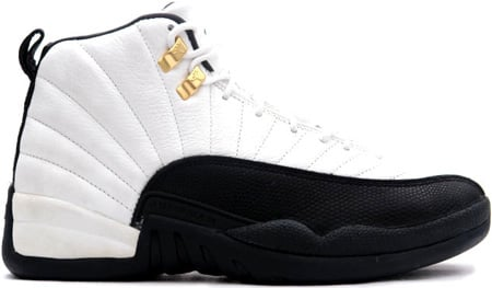 Air Jordan Original / OG 12 (XII) Taxis White / Black - Taxi