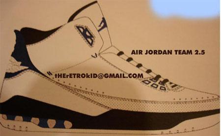 Air Jordan Team 2.5 Debut
