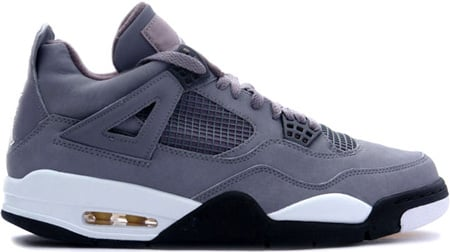Air Jordan 4 (IV) Retro Cool Greys Cool Grey / Chrome - Dark Charcoal - Varsity Maize
