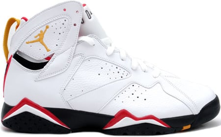 Air Jordan 7 (VII) Retro Cardinals White / Black – Cardinal Red – Bronze