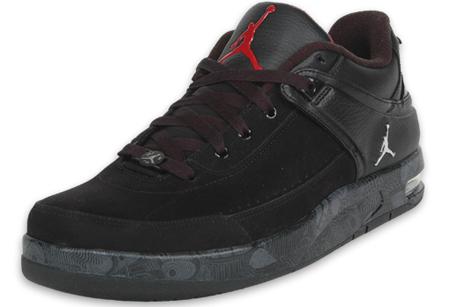 Air Jordan Classic 87 Low Black / Grey / Red