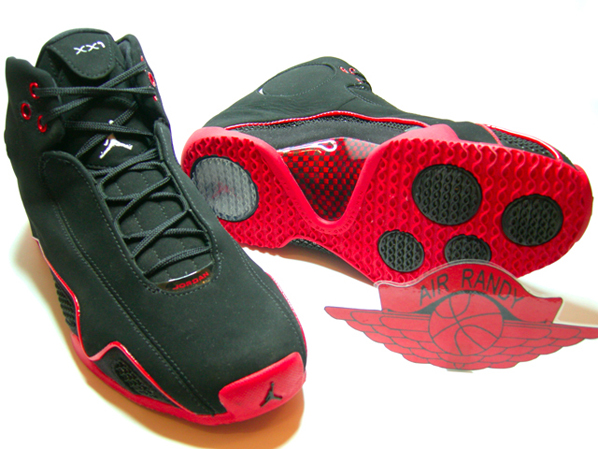 Air Jordan XX1 Retro Countdown Pack Black / Metallic - Varsity Red