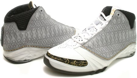 56ac661f73b Air Jordan XX3 (23) White / Stealth / Black / Metallic Gold ...