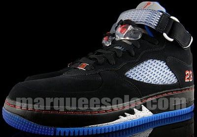 74f5f02c762020 ... Jordan 5 Fusion 318608-062 Black Blue Ribbon New Blue Varsity Red  150    IMG