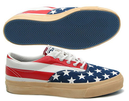 Converse Skidgrip - Red/Green/Blue and American Flag