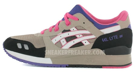 Asics Gel Lyte III - Mud/Pink/Purple