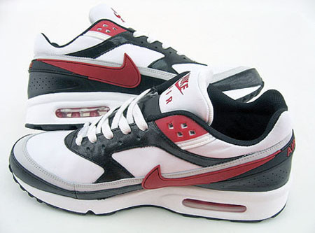 Nike Air Max BW - White/Red/Black
