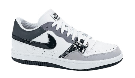Nike Court Force Low - White/Black/Cool Grey