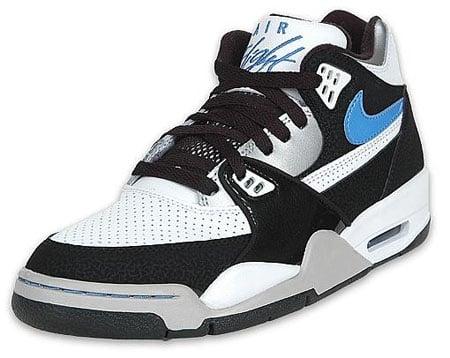 Nike Air Flight 89 - White/University Blue/Black/Silver