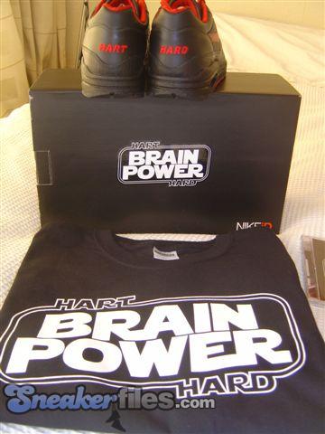 Nike iD Air Max 90 Premium and Air Max 1 Premium - Brainpower