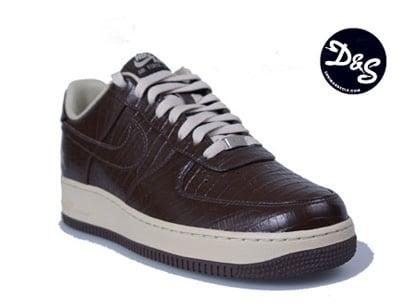 Nike Air Force 1 Low '07 Premium HTM - Blue and Brown