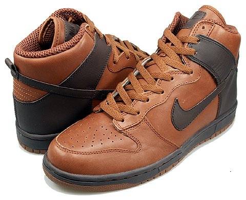 Nike Dunk Low and High Premium iD - Cognac