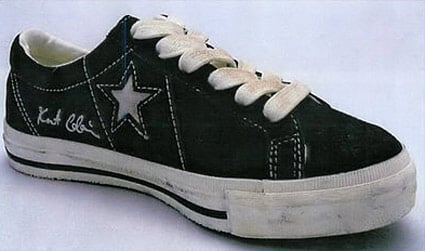Converse One Star Low and Chuck Taylor x Kurt Cobain