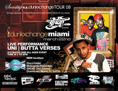 Dunkxchange Miami March 22nd 2008