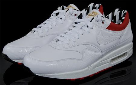 b106077e4423e Nike Euro Champs Air Max 1 Premium - White   Red   Black