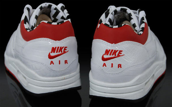 Nike Euro Champs Air Max 1 Premium - White / Red / Black