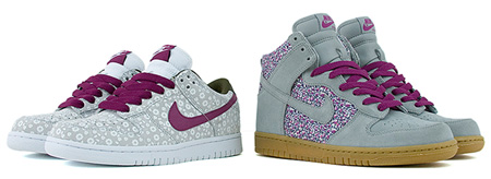 Nike Womens Dunk - Liberty Fabric Pack