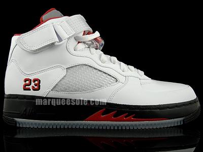 Air Jordan 5 (V) Fusion Fire Red