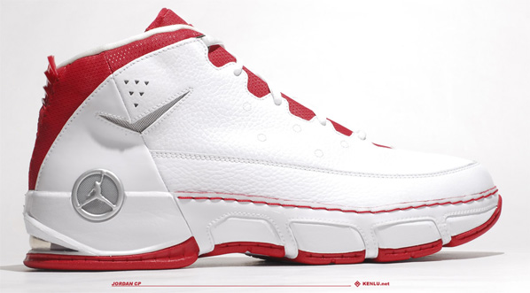 Air Jordan CP Chris Paul - White / Metallic Silver / Varsity Red / Black