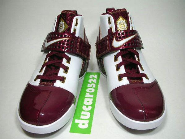 Nike Zoom LeBron V PE: Christ The King High School