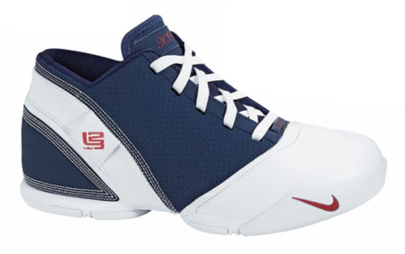 Nike Zoom Lebron V Low - Midnight Navy/Varsity Crimson/White