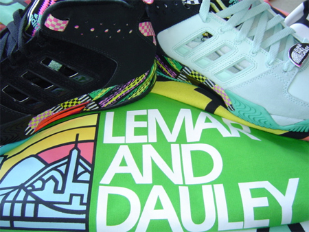 Lemar and Dauley x adidas Remix Streetball 08