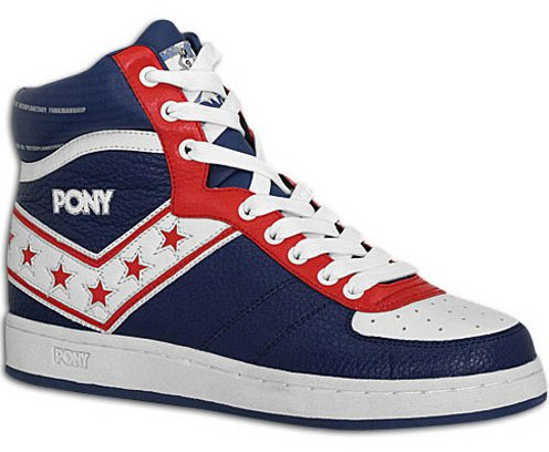 Pony Darryl Dawkins Uptown - Navy / Red / White and Red / White / Navy
