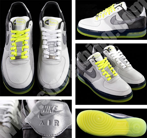 Nike Air Force 1 - Infrared Air Max 90 and Neon Air Max 95 Inspired