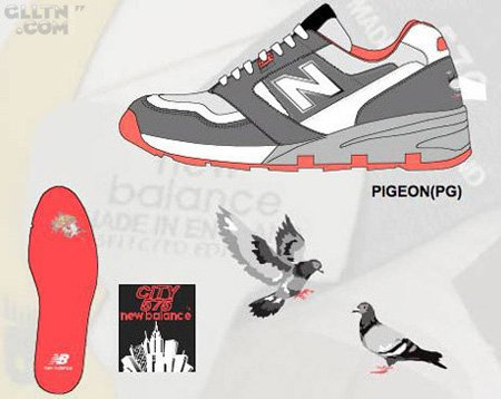 New Balance 575 Pigeon x Staple Design
