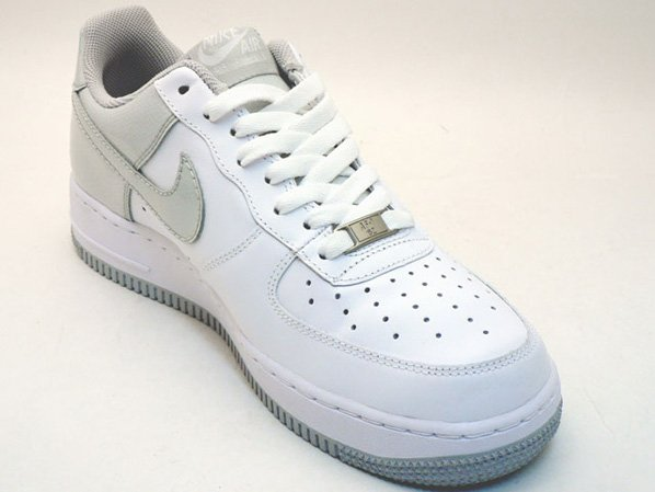 Nike Air Force 1 White / Neutral Grey Snake
