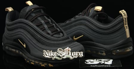 nike air max 97 black gold