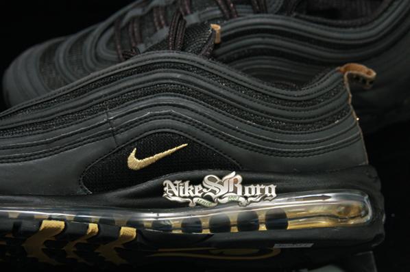 Nike Air Max 97 Black / Gold