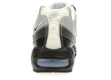 Nike Air Max 95 Grey / Black - White - Ice Blue JD Sports
