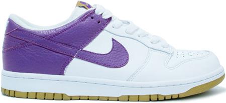 Nike Dunk Low White / L. Purple
