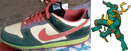 Nike Dunk SB Low Michelangelo (TMNT)