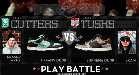 Nike Dunk Wars