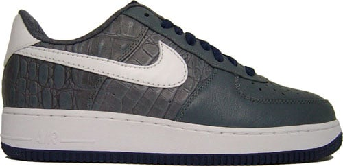 Nike Air Force 1 Low Premium Flint Grey/Navy at Purchaze