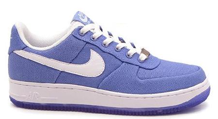 Nike Air Force 1 Purple Canvas
