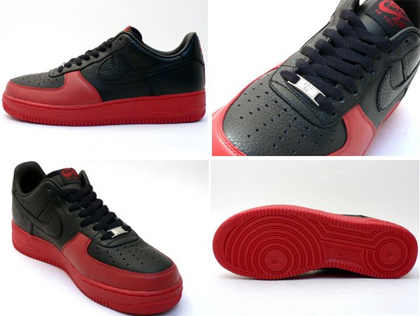 Nike Air Force 1 Low ADV Limited Edition - Black/Red